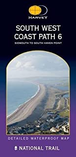 South West Coast Path 6: Sidmouth to South Haven Point (Route Map)