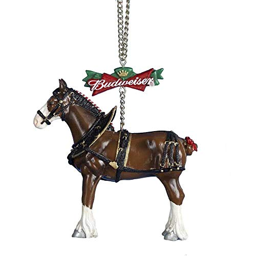 Kurt Adler Budweiser Clydesdale Horse Christmas Tree Ornament