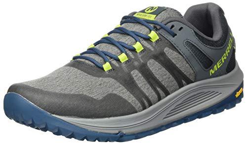 Merrell Nova GTX, Zapatillas para Carreras de montaña Hombre, Gris (Monumento), 41.5 EU