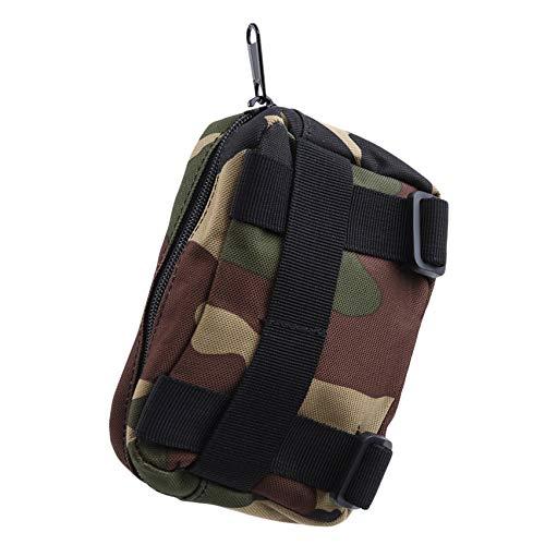 LPOQW Men Camping Sundries Bag Tactical Waistpack Handbag Shouldler Bag for Outdoor Sports Travel Camping Hiking Cycling Bags Soft Back,Camouflage