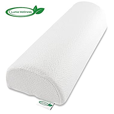 Extra Firm Half Moon Bolster Support Memory Foam Pillow