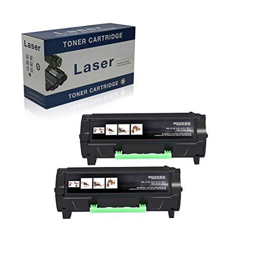 Compatible Reemplazo Cartuchos De Tóner para Lexmark M3150 24B6186 para Su Uso con Lexmark M3150 XM3150 Impresora, Negro -16,000 Páginas,2 Pack