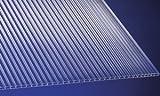 Polycarbonat Universal Stegplatten für Gewächshäuser klar 1500 x 700 x