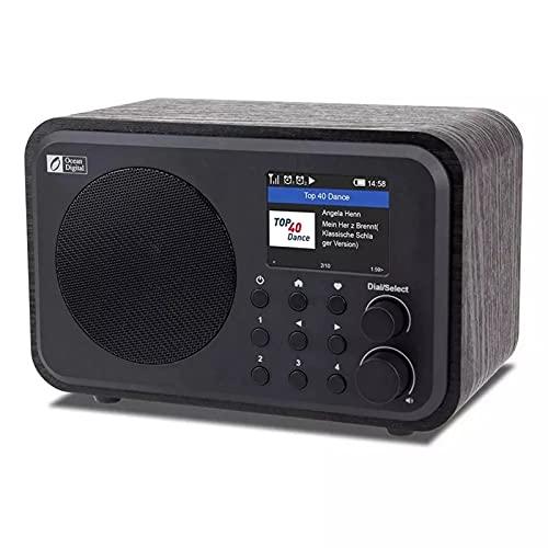 Wifi Internet Radios Radio Digital Portátil Con Batería Recargable, Receptor Bluetooth, Acceso...