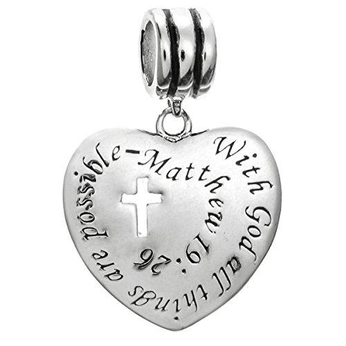 Sterlingsilber Christliches Kreuz