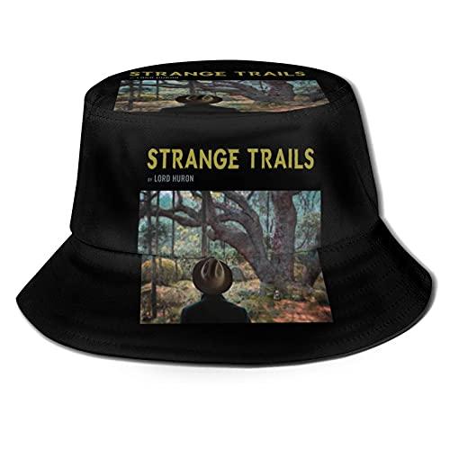 Fandao Lord Huron Strange Trails Sombreros de Pescador Imprimir Gorra para el...
