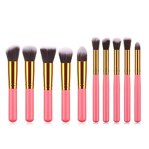 WWWL Brocha de Maquillaje Cepillos de Maquillaje Conjunto Spiral Handle Foundation Powder Blush Eyeshadow Concealer lip Eye Make up Brush Cosmetics Beauty Tool 02