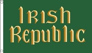 AZ FLAG Easter Rising Irish Republic Flag 3' x 5' - Republic of Ireland Flags 90 x 150 cm - Banner 3x5 ft