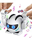 HIRIFULL Rolling Robot Toy for 3+ Kids, Touch Sensor, Smart Interactive Toys Walking, Singing and Dancing, Educational Learning Toy for Boys and Girls