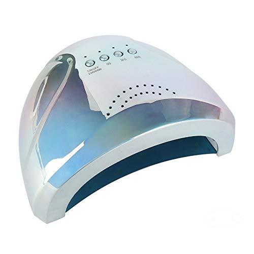 GUOLINGHUI 24W / 48W Professional UV LED Nail Lampe Détection Automatique des Ongles Lampes Durcissement Ongles Sèche-Outils De Manucure avec 3 Minuterie (5s / 30s / 60s) Durable (Couleur : Bleu)