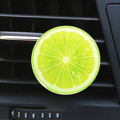 Preisvergleich Produktbild LSTC Auto Duft Duft FüRs Auto Auto Freshner Autozubehör für Frauen Bester Auto-Lufterfrischer Autoinnenausstattung Lufterfrischer für Autos Green