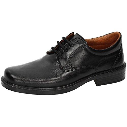 LUISETTI 0101 Mocasines Cordones Hombre Zapatos CORDÓN Negr