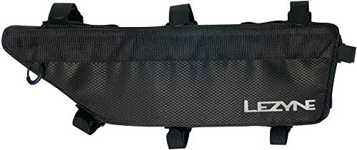 LEZYNE Bicycle Frame Caddy Bag, Large Frame Pack, Adjustable Mounting Straps, Quick Access, Bike Frame Caddy