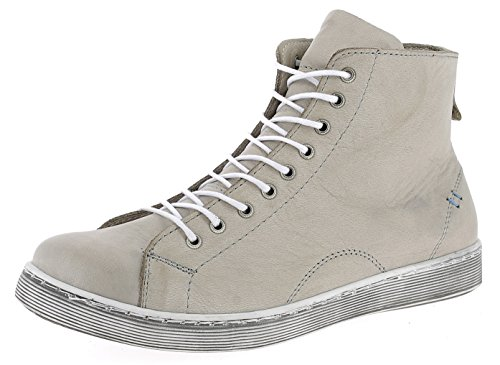 Andrea Conti Damen 0341500 Hohe Sneaker, Beige, 41 EU