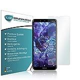 Slabo 4 x Film de Protection d'écran Compatible avec Nokia 5.1 Plus | Nokia X5 Protection écran...