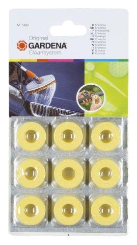 GARDENA Cleansystem-Shampoo: Cirkelvormige reinigingsringen voor de zachte reiniging van laklagen en kunststofoppervlakken, gerichte dosering (1680-20)