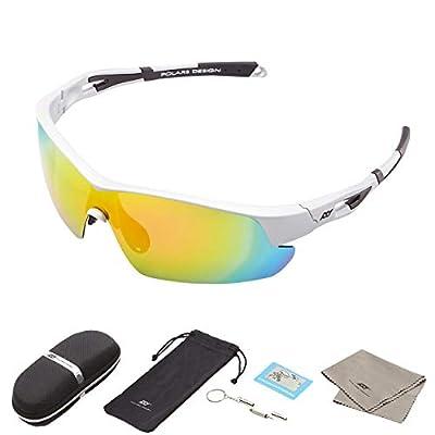 Polarized TAC Lens Sunglasses Swiss EMS TR90 UV Blocking For Sports