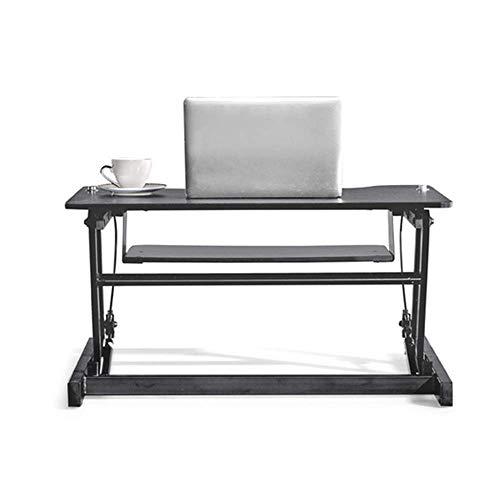 GWFVA Lapdesks - Escritorio para computadora portátil móvil Soporte para computadora portátil - Escritorio para computadora con Elevador de pie, Escritorio para computadora portátil móvil, Mesa el
