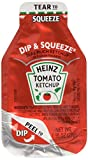 Heinz Ketchup Dip & Squeeze Packets (0.95 oz Packets, Pack of 100) 3x More Ketchup Than The Standard .32oz Packets