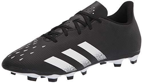 adidas Predator Freak .4 Firm Ground Soccer - Zapatillas de fútbol (Talla 12,5), Color Negro, Blanco y Negro