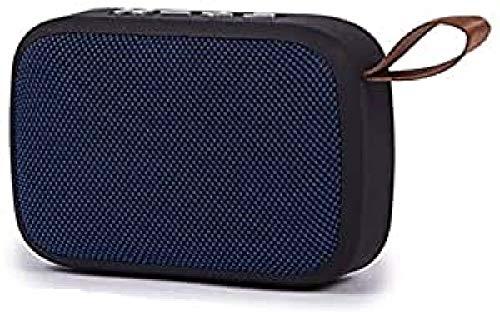 Kooltech 018819 Altavoz Radio, Despertador, Bluetooth, Azul
