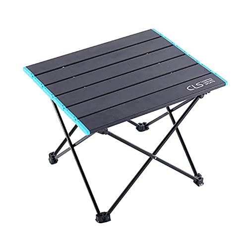 Shuliang Mesa plegable portátil para camping, mesa de picnic, mesa de viaje, mesa de aluminio ultraligera, plegable, para equipos al aire libre