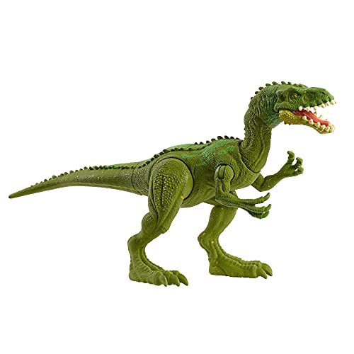 Jurassic World Fuerza Feroz Masiakasaurus Dinosaurio articulado, figura de juguete para niños (Mattel HBY68)
