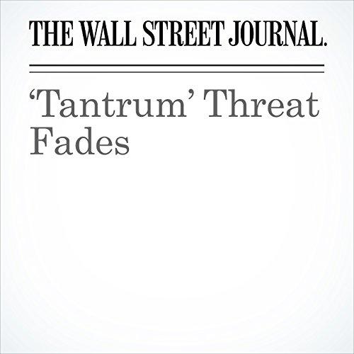'Tantrum' Threat Fades cover art