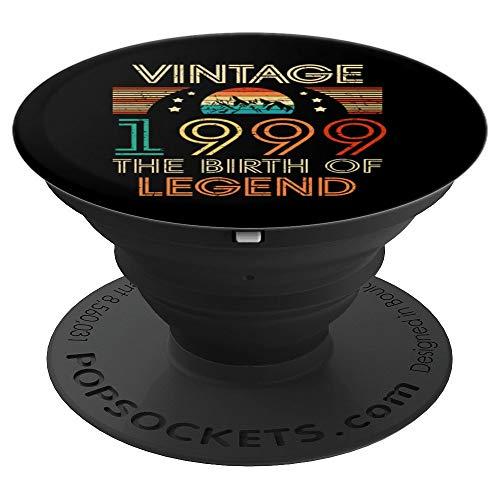 Retro Vintage 1999 21 Regalos de cumpleaños 21 años 21 Bday PopSockets Agarre y Soporte para Teléfonos y Tabletas