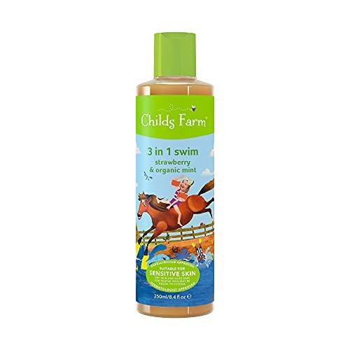 Childs Farm Shampooing 3-en-1 - Fraise et menthe bio