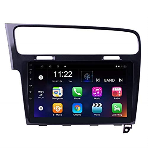 10.1 Inch Android 8.1 GPS Radio for VW Volkswagen Golf 7 2013-2015 with Bluetooth USB WiFi AUX Support DVR OBD II Mirror Link