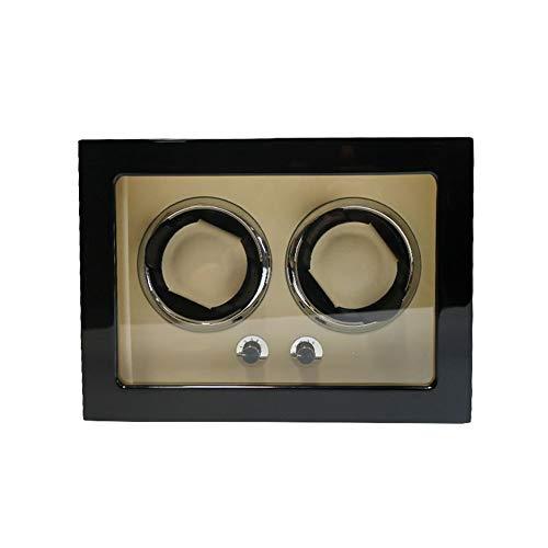 zyy Watch Winder de Madera, Caja de Almacenamiento de Relojes Modos de Rotación del Motor Silencioso 5 (Color : B)