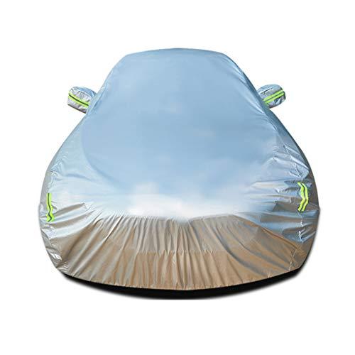 Funda para Coche Compatible con PEUGEOT 208 3 PUERTAS ALLURE, Impermeable Cubierta para Coche A prueba de viento Transpirable Antipolvo Lona A prueba de sol Accesorios de coche Chaqueta de coche