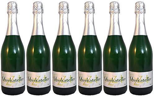 Muskateller Frizzante Vulkanland Steiermark 6 Flaschen Weinhof Rauch
