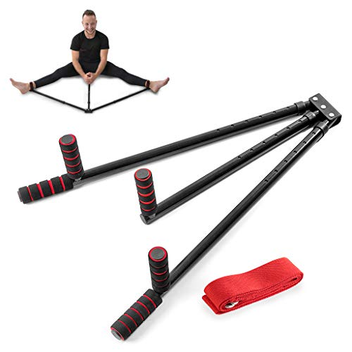 Champs MMA 3 Bar Leg Stretcher – Stainless Steel Split Machine MMA Equipment Hamstring Stretcher Device Boosts Range of Motion and Stretching Flexibility – Mixed Martial Arts Training Equipment