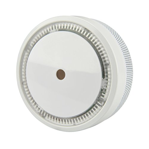 UNITEC Rauchwarnmelder Mini VDS 3131 10-J. Q-Label WS, 1 Stück, Weiߟ, 46797