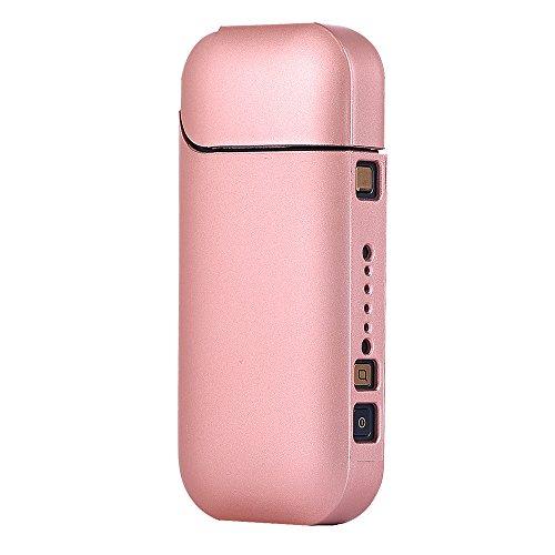 Joma-E Shop Custodia portatile in policarbonato per sigaretta elettronica IQOS, custodia di protezione, antigraffio, custodia professionale da viaggio per kit sigaretta elettronica IQOS rosa