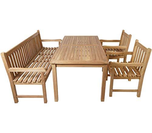 Teak Gartensitzgruppe Classic für 6 Personen kaufen  Bild 1*