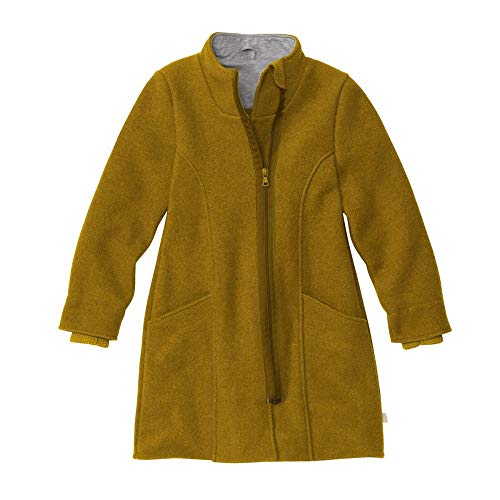 Disana Kinder Walk-Mantel für Mädchen, Gr. 98/104, Gold