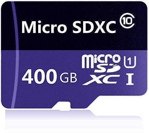 Tarjeta de memoria Micro SD SDXC de 256 GB / 400 GB / 512 GB / 1024 GB Clase 10 de alta velocidad con adaptador micro SD (400 GB-E)