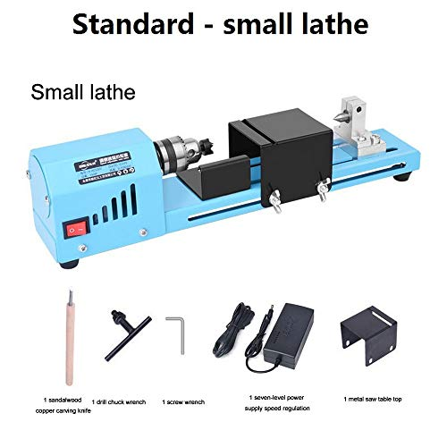 Purchase 150W Mini Wood Lathe Bead Cutting Machine Drill Polishing