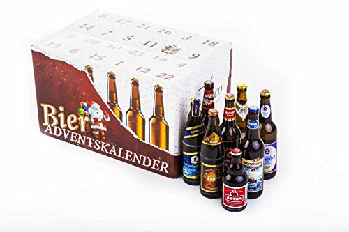 Bier Adventskalender 'Deutsche Biere' (24 Flaschen / 6,0% vol.)