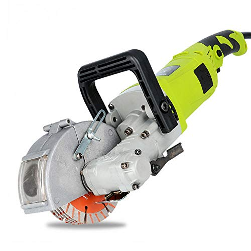 4000W Máquina Ranuradora, Rozadora Eléctrica, Ranuradora de Pared, Eléctrica Pared Chaser Groove, Máquina de Corte Ranuradora de Pared con Bomba de Agua
