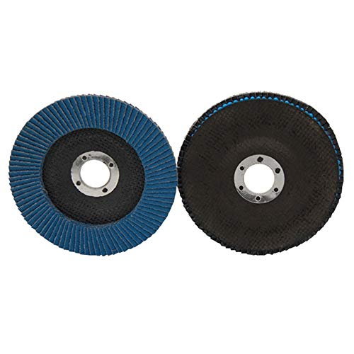 10PCS 60/80 Grit Grinder Grinding Wheel 100/115/125mm Blades Flap Angle Discs Tincocen