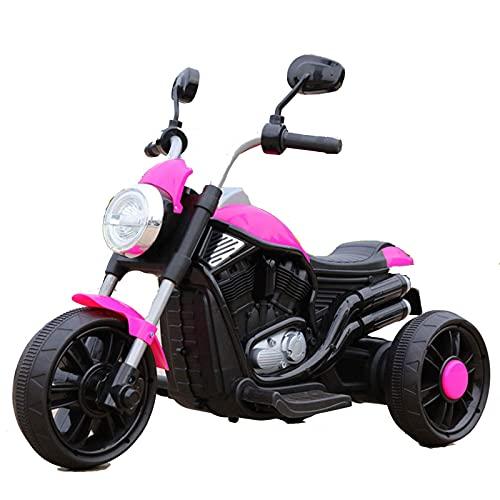 XLAHD Motocicleta eléctrica para niños Paseo para niños en Mini Motocicleta, Ruedas...