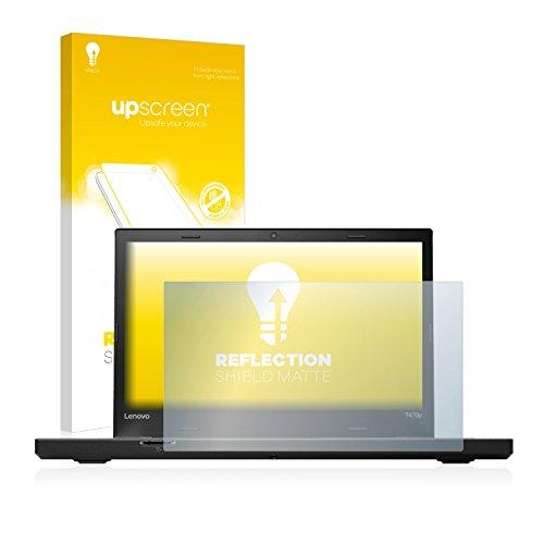 upscreen Entspiegelungs-Schutzfolie kompatibel mit Lenovo ThinkPad T470p – Anti-Reflex Bildschirmschutz-Folie Matt