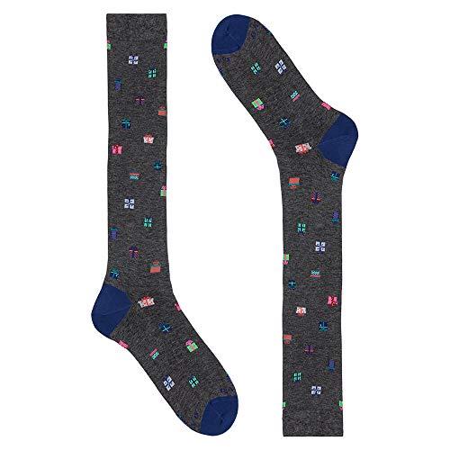 Gallo Socken grau mit Geschenkpackungen 40-45