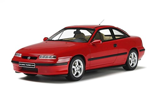 Opel Calibra 4x4 rot 1996 Modellauto OT172 Otto 1:18