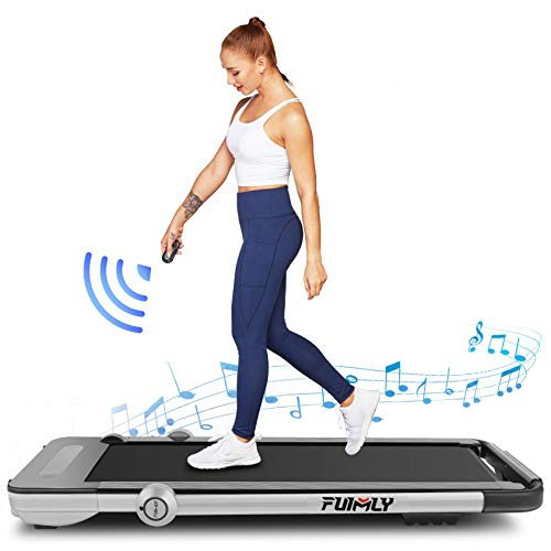 Folding Treadmill, 2-in-1 Under-Desk Treadmill for Home,...