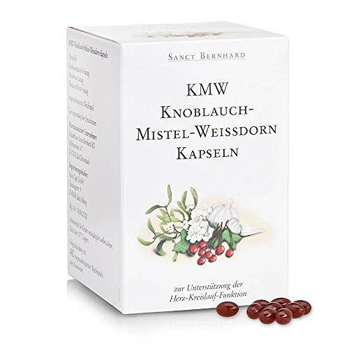 KMW Knoblauch-Mistel-Weißdorn Kapseln, 480 Kapseln